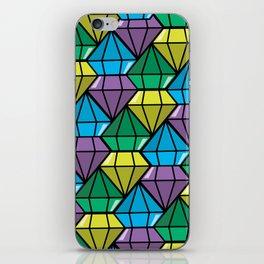 dimonds flow iPhone Skin