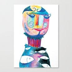 Mr Eccentric Canvas Print