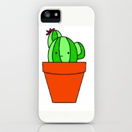 Indifferent Cactus iPhone Case