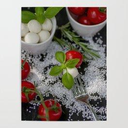 Italian appetizer Poster