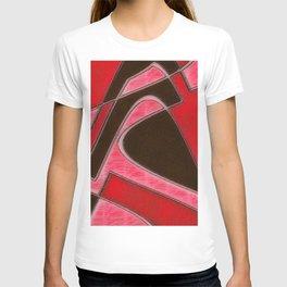 Red Denim Sampler T-shirt