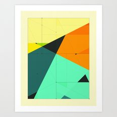 DELINEATION (125) Art Print