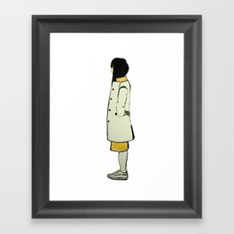 The Coat Framed Art Print