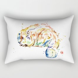 Beaver - Oh Canada Rectangular Pillow
