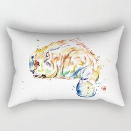 Beaver - Oh Canada Rectangular Pillow