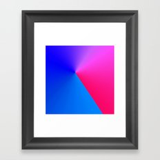 Northern Lights meet Sunrise Framed Art Print