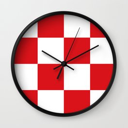 Flag of North Brabant Wall Clock