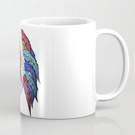 Native American woman,Indian American design Coffee Mug