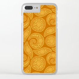 Oriental gold Clear iPhone Case