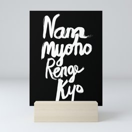 Nam Myoho Renge Kyo - Light on Dark Mini Art Print