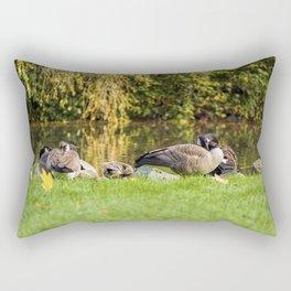 Canada Goose - Wild Life - Bird Rectangular Pillow