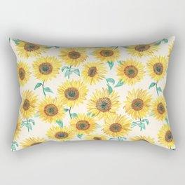 Sunny Sunflowers Rectangular Pillow