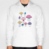 mushroom Hoodies featuring Mushroom by Elyse Beisser