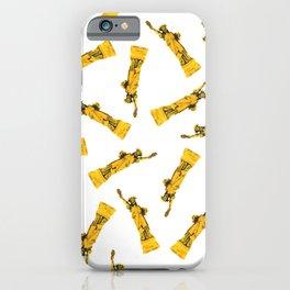 Golden NYC Liberties iPhone Case