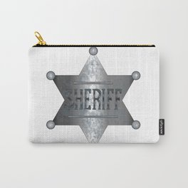 Sheriff Badge Carry-All Pouch