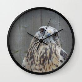 Eyes contact Wall Clock