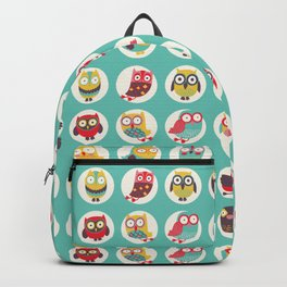 Happy owls Backpack