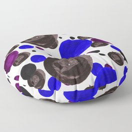 Colorful blowfishes Floor Pillow