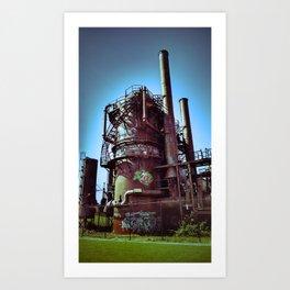 Gasification Plant  Art Print