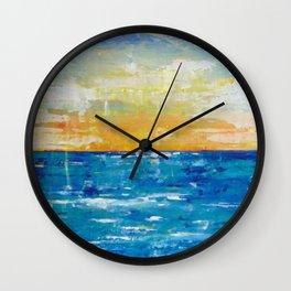 When Your Suntan Fades Wall Clock
