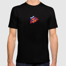 Pengwin that is Super Mens Fitted Tee MEDIUM Black