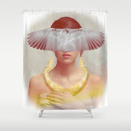 The healer of souls Shower Curtain