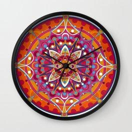 Mandala 005 Wall Clock