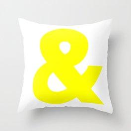 & No. 2 -- Yellow Throw Pillow