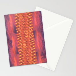 Lava Lamp Skies Stationery Cards