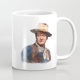 John Wayne - The Duke - Watercolor Coffee Mug