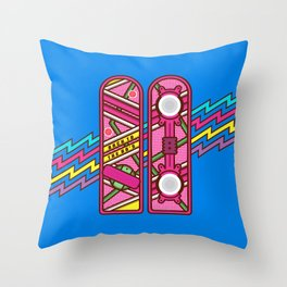 Back to the 80's Throw Pillow