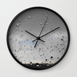 Sky tears Wall Clock