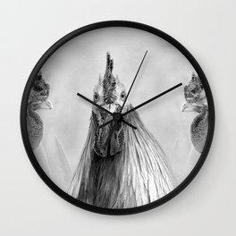 Gulp! In Mono Wall Clock