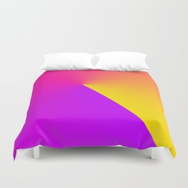 Abstract Summer Impression Duvet Cover