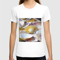 shells T-shirts featuring Shells by jacqi elmslie