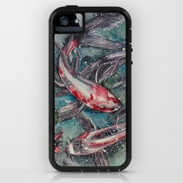 Harmony (Watercolor Painting) iPhone Case