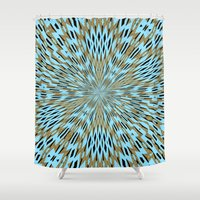 infinity Shower Curtains featuring Infinity by Stay Inspired
