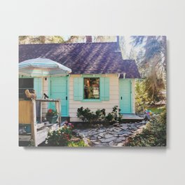 Stevie's Lake Tahoe Cottage Metal Print