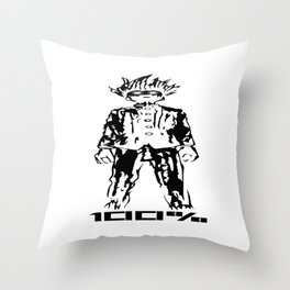 Kageyama Shigeo Throw Pillow