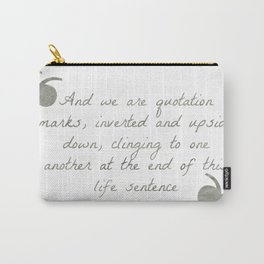 Quotation Marks Carry-All Pouch