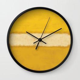 Rothko Inspired #13 Wall Clock