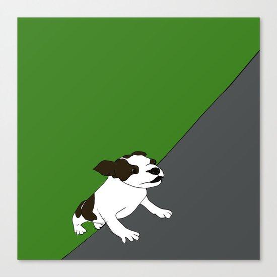 Annie The Boston Terrier Canvas Print