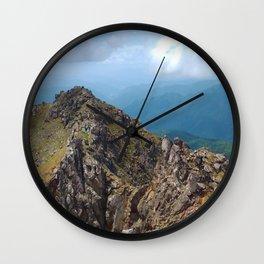 Rocky Summit Wall Clock