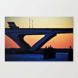 Connect the States Canvas Print