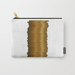 Stack Of Coins Carry-All Pouch