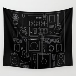 Schematic Diagram Wall Tapestry
