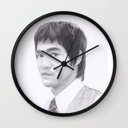 Lee, Bruce the dragon Wall Clock