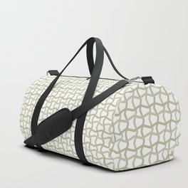 Repeat Pattern Duffle Bag