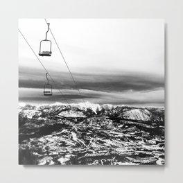 Chair to Nowhere Metal Print