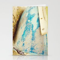 cape cod Stationery Cards featuring cape cod blue by Finch & Maple